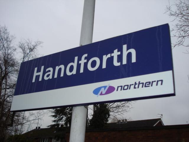 Handforth Northern sign