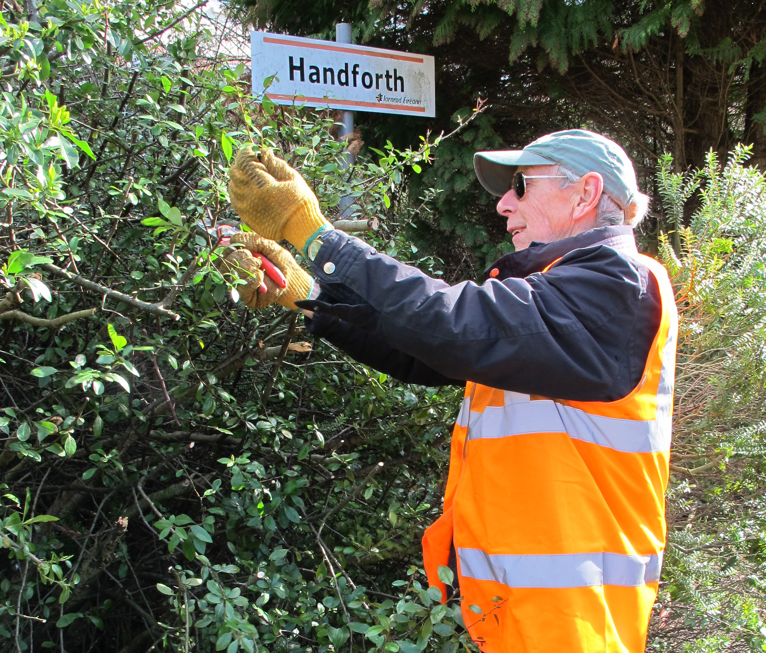 Successful Station Work Party at Handforth